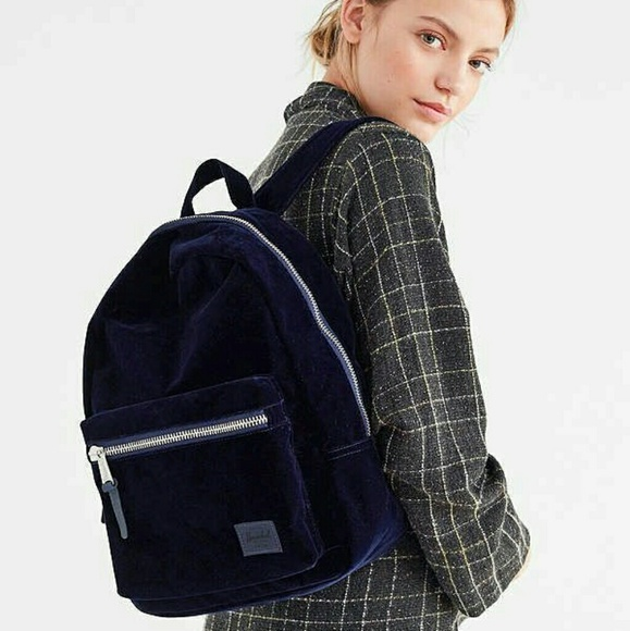 sprzedaż uk najlepsza moda najwyższa jakość Herschel Grove XS Velvet Backpack NWT